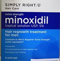 Simply-Right (миноксидил 5%) - 6 флаконов